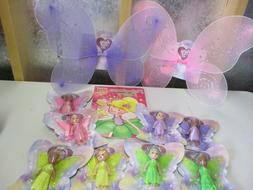 Fairy Dolls SET  Pretend Play Dress Up Coloring Activity Boo
