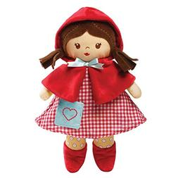 "Baby GUND Red Fairy Tale Stuffed Plush Doll Toy, 13"""