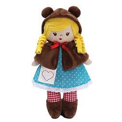 "Baby GUND Goldie Fairy Tale Stuffed Plush Doll Toy, 13"""
