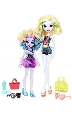 Monster High Monster Family Lagoona Blue and Kelpie Blue Dol