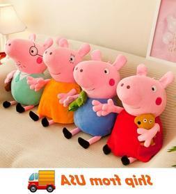 Peppa Pig Family Plush Toy Stuffed Doll