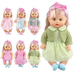JING SHOW BUSSINESS Pack of 6 Alive Lovely Baby Gown Dress C