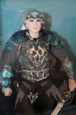 FARAWAY FOREST KING OF THE CRYSTAL CAVE BARBIE KEN DOLL GOLD