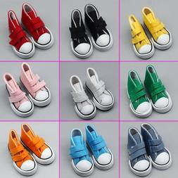 Fashion Doll Accessories Cloth Canvas Sneakers Shoes For Gir