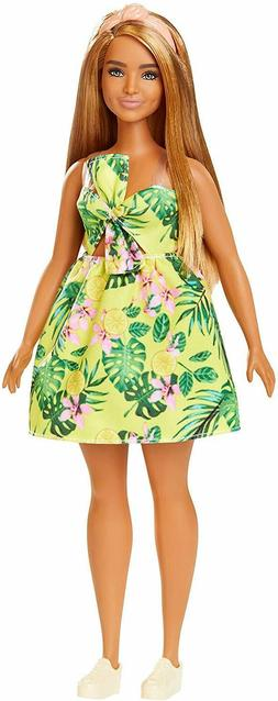Barbie Fashionistas Doll 126 Curvy Body Type Deluxe Doll Exc