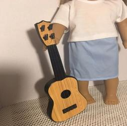 "Faux Acoustic Guitar For Logan Tenney Fits 18"" American girl"