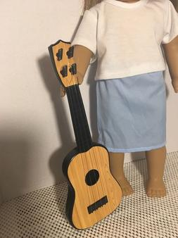 """Faux Acoustic Guitar For Logan Tenney Fits 18"""" American girl"""