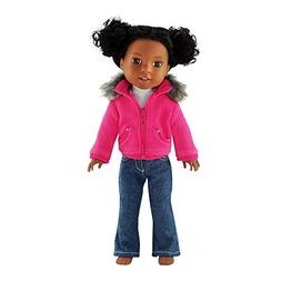 14 Inch Doll Clothes/Clothing | Faux Fur Collar Accessory Ja