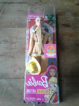 FIREFIGHTER BARBIE DOLL 60th ANNIVERSARY NEW IN UNOPENED PAC