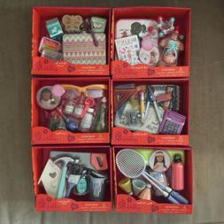 """Our Generation Fits 18"""" American Girl Dolls Lot of 6 Acces"""