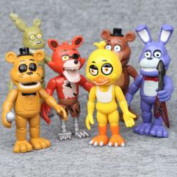 Five Nights At Freddy's 6 PCS FNAF Game Character Action Fig