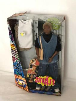 """MATTEL-FLAVAS-""""TRE"""" DOLL-NEW IN ORIGINAL PACKAGE-2003-COMES"""
