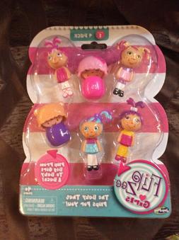 FLIP ZEE Dolls GIRLS FLIP FROM BIG GIRL TO BABY 4 PACK Serie