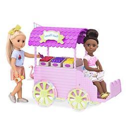 Glitter Girls by Battat – Flower Carriage for 14-inch Doll