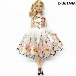 Flower Costume One-piece Dress For 11inch Doll 1/6 Fashion P