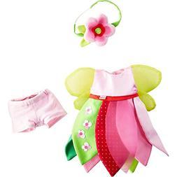 HABA Flower Fairy 3 Piece Dress Set with Underpants & Headba