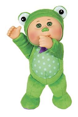 Cabbage Patch Kids 9 inch Friends Cutie Stuffed Frog - Green