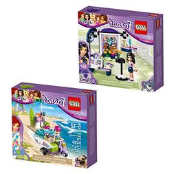 LEGO Friends Emma & Mia 66568 Building Kit Bundle