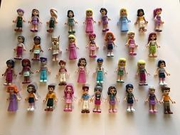 LEGO Friends Girl Female Male Minifigures - Lot of 10 Random