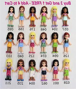 LEGO Friends U PICK - Minifigures Mini Doll Girls ALL NEW Ge