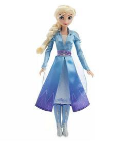 "Disney Frozen 2 Elsa Singing Doll 11"" New in Box Ships Prior"