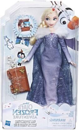 Disney Frozen Olafs Adventure Elsas Treasured Traditions Dol