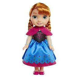 New Disney Frozen Toddler Doll - Anna with Pink Cape Model:2