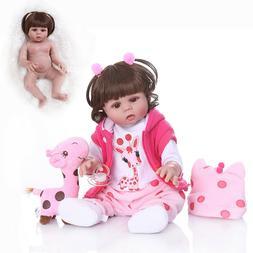 Full Body 18'' Newborn Reborn Doll Cheap Lifelike Handmade B