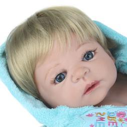Full Body Silicone Reborn Boy Dolls Realistic Newborn Baby 2