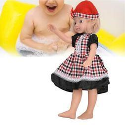 Full Body Soft Silicone Dolls Lifelike Baby Doll Girl Toys G