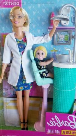 Barbie FXP16 Dentist Doll & Playset Blonde, Multicolor