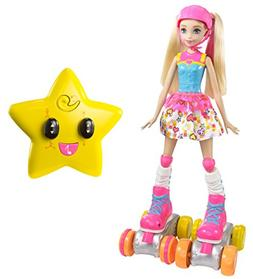 Barbie Video Game Hero Remote Control Roller Skating Doll