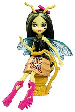 Monster High Garden Ghouls Winged Critters Beetrice Doll, 5.