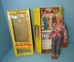 "GAY BOB 13"" DOLL W/ FASHION CATALOGUE CLOSET 1977 W/BOX NEW"