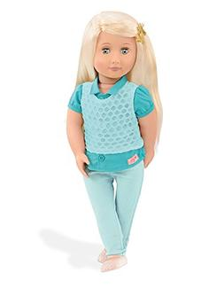 "Our Generation Celeste 18"" Doll - Fast Shipping - Factory Se"