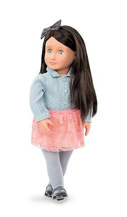 "Our Generation Elyse 18"" Doll New"