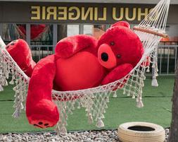 Giant Teddy Bear Stuffed Animals LifeSize Plush Toy Doll for