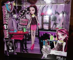 Gift For Girl Monster High Beast Bites Cafe Draculaura Doll