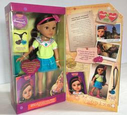 """Hearts For Hearts Girls Consuelo from Mexico 14"""" Doll Brunet"""