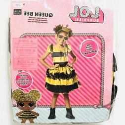 Girls Costume LOL Doll Surprise Queen Bee New Dress Up Outfi