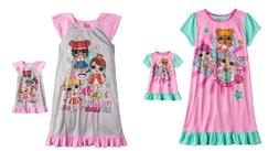 Girls LOL Surprise Nightgown & Doll Gown fit American Girl 4