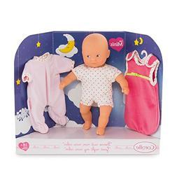 Corolle DLG09 Good Night My Mini Calin Baby Doll, Pink