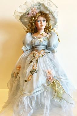 Gorgeous  Victorian Porcelain Doll Abby-Limited Edition Coll