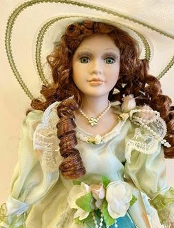 Gorgeous  Victorian Porcelain Doll -Limited Edition Collecti