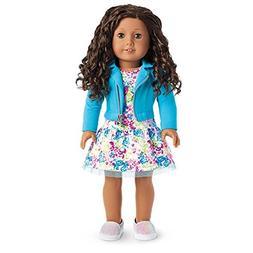 American Girl - 2017 Truly Me Doll: Medium Skin, Curly Dark