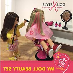 The New York Doll Collection 30 PC Doll Hair Care set - Incl