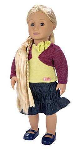 Our Generation From Hair to There 18-Inch Phoebe Doll with E