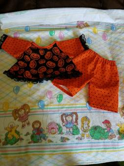 HALLOWEEN OUTFIT FOR 16 INCH CABBAGE PATCH DOLL