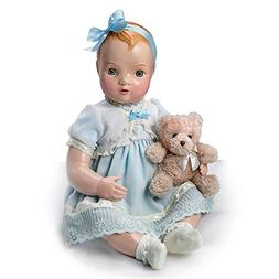 Hand Painted Authentic 1930s Vintage Look Vinyl Doll Replica