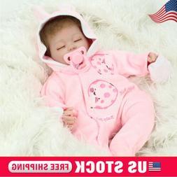 Handmade Reborn Baby Dolls Real Life Soft Vinyl Silicone Bab